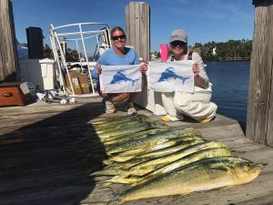 dolphin fishing goddess charters 2018