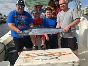 family trip picture goddess charters jan 2018