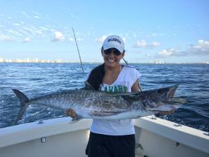 big king fish picture goddess charters
